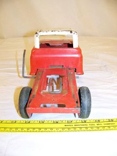 Buddy L Dump Truck Missing Dump Bed Vintage Toy Truck