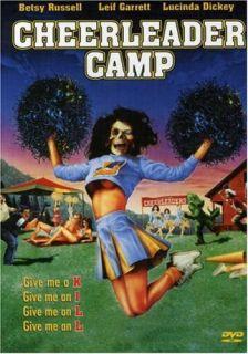 Camp RARE OOP Horror DVD Betsy Russell Leif Garrett Slasher