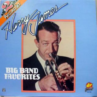 harry james big band favorites label pair records format 33 rpm 12 lp