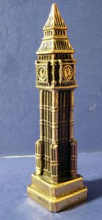 Souvenir Building London Big Ben Clock Tower Parliament United Kingdom