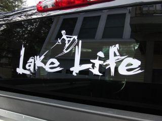 Big Lake Life Decal Sticker Free Mini Lake Life Decal
