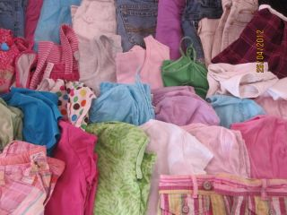 Big Lot Girls Size 7 8 Spring Summer Clothing Lot