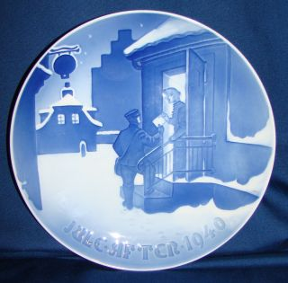 Bing Grondahl 1940 Christmas Plate
