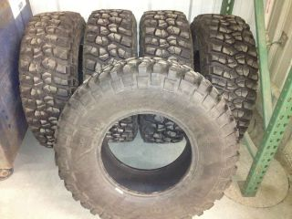 BFG BF Goodrich Mud Terrain TIres 35X12 5X17 jeep off road rock