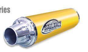 HMF Bill Ballance Pro Exhaust Pipe Raptor 700 Yellow