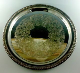 Silverplate Tray William Rogers Son 12 1 4 2671