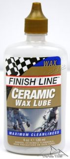LINE CERAMIC WAX BICYCLE BIKE CHAIN LUBE OIL LUBRICANT BOTTLE 4 ounce