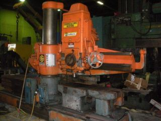 Giddings Lewis Bickford Chip Master 954 Radial Arm Drill