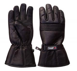 Leather Waterproof Motorcycle Motorbike Gloves 3m Thinsulate Medium