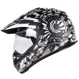 Sport ATV UTV Motocross Street Bike Hybrid Helmet Dot s M L XL