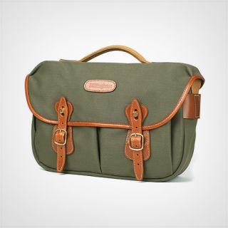 Billingham Hadley Pro Camera Bag Sage Fibrenyte Tan Leather