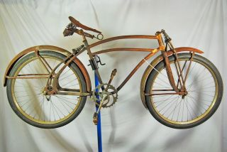 Vintage 1939 Huffman Dixie Flier Twin Flex Balloon Tire Bicycle Bike