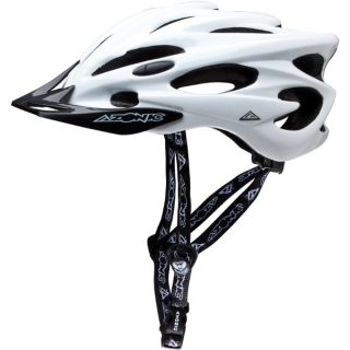 azonic exile helmet white bicycle mountain bike helmet