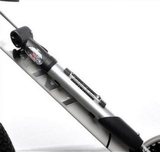 2012 Cycling Bicycle Bike Aluminium Pump with Pressure Gage