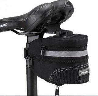 New Cycling Bicycle Bike Saddle Outdoor Pouch Seat Bag