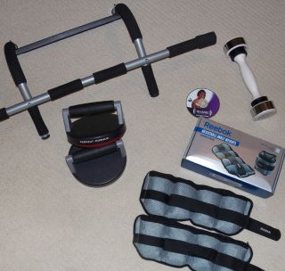 Big Lot EXERCISE EQUIPMENT Shake Weight 5 lb. REEBOK Perfect Pull