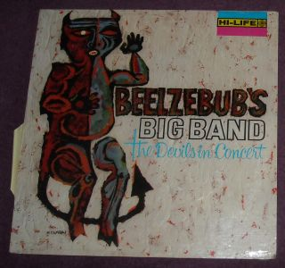 sealed beelzebub s big band the devils in concert lp