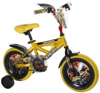Dynacraft Transformers Bumblee 12 Inch Bike Bicycle Training Wheels