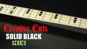 Billy Sheehan Attitude 3 Yamaha Bass Style Black Vinyl Decal Inlays 4