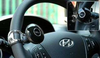 Black Label Car Steering Wheel Suicide Spinner Knob BL Platinum Power