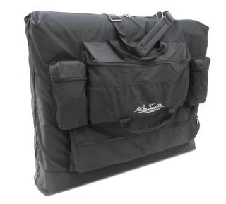 Black Portable Massage Table Deluxe Carry Case Bag