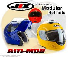 Dot Red Modular Flip Up Motorcycle Scooter Helmet XL