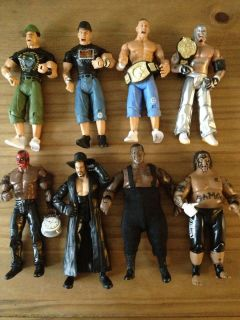 WWE Loose Wrestling Figure Jakks Series Rey Mysterio Cena Boogeyman