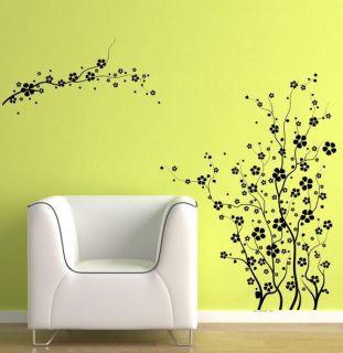 Large Big Spring Tree Blossom Flower Stem Wall Mural Decor Vinyl Decal