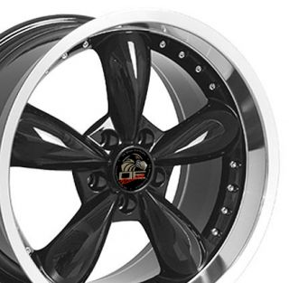 One Rim 20 x10 Black Rims Wheels Fit Mustang® Bullitt