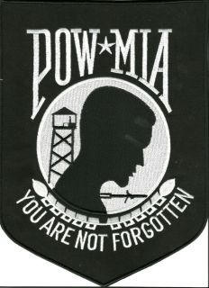 Big Iron On Patch of POW * MIA You Are Not Forgotten Brand New Without