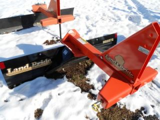LANDPRIDE BRAND NEW 2010 RB2572 TRACTOR BLADE   THREE POINT HITCH   72