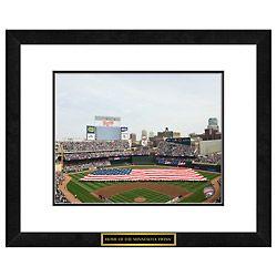 MLB Minnesota Twins Target Field Memorabilia Print Baseball Bar Pub