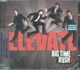 Big Time Rush Elevate SEALED CD New 2011