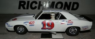 19 Kenny Brightbill 1968 Camaro Custom Built 1 32 Slot Car Scalextric