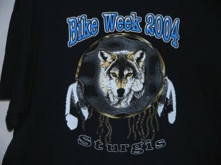 Sturgis Bike Week 2004 T Shirt XXL, Harley   Motorcycle   Rally
