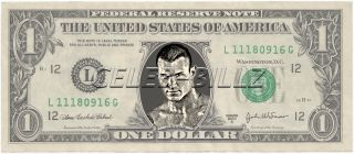 Randy Orton WWE Dollar Bill Mint Real $$ Celebrity Novelty Collectible