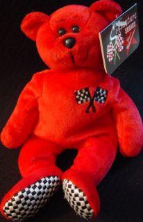 Classic Collecticritters 1999 Bill Elliott Teddy Bear Plush Bean Bag
