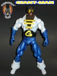 Custom Giant Man Black Goliath Bill Foster Action Figure DC Toy