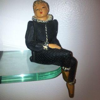 Vintage American Art Industries Brooklyn N Y Hand Painted RARE Doll