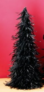 Black Feather Decoration Christmas Tree Party Haloween