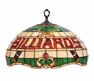 New 20 Stained Glass Hanging Pendant Pool Table Light