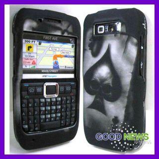 Skull Hard Case Cover for Straight Talk Nokia E71 Smart Phone