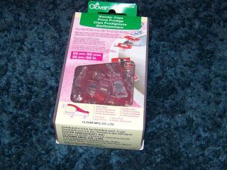 Huge Box of 50 Clover Brand Wonder Clips for Quilting Crafts Projects