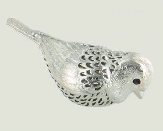 Christofle Lumiere Collection Bird Figurine Silverplate Paris France
