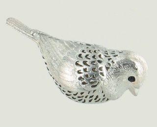Christofle Lumiere Collection Bird Figurine Silverplate Paris France