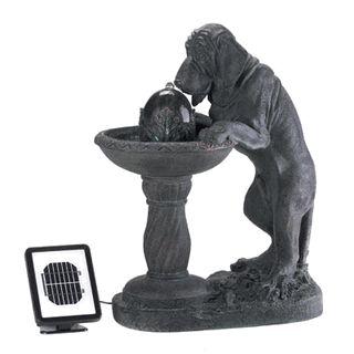 Fountain Water Feature Home Improvement Dog Bird Bath Gardening