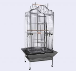 32x30x62New Large Parrot Macaws Bird Cage Dometop Open Cockatiel
