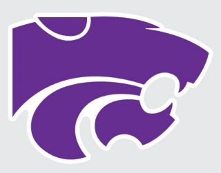 State Wildcats Mascot Logo 5 Vinyl Decal Car Truck Sticker K State