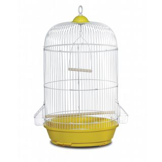 Prevue Pet Products Classic Yellow Round Bird Cage Yellow