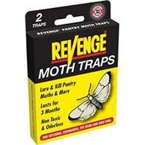 Revenge Pantry Bird Seed Pet Food Pest Moth Traps 2pk